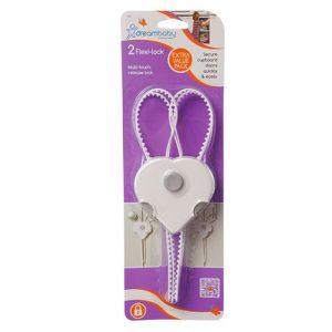 قفل کابینت کودک ضربدری دو عددی Dreambaby 1