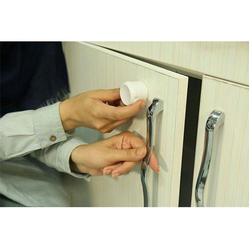 قفل کابینت کودک مگنت ۴ عددی نی نی ک