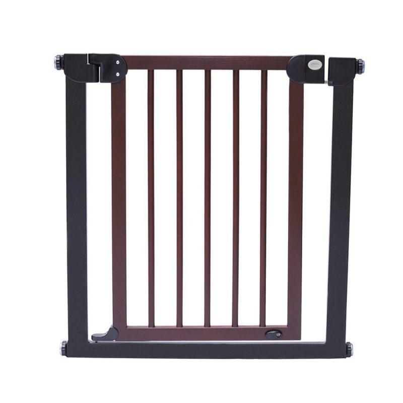 نرده محافظ در و پله کودک چوبی 2