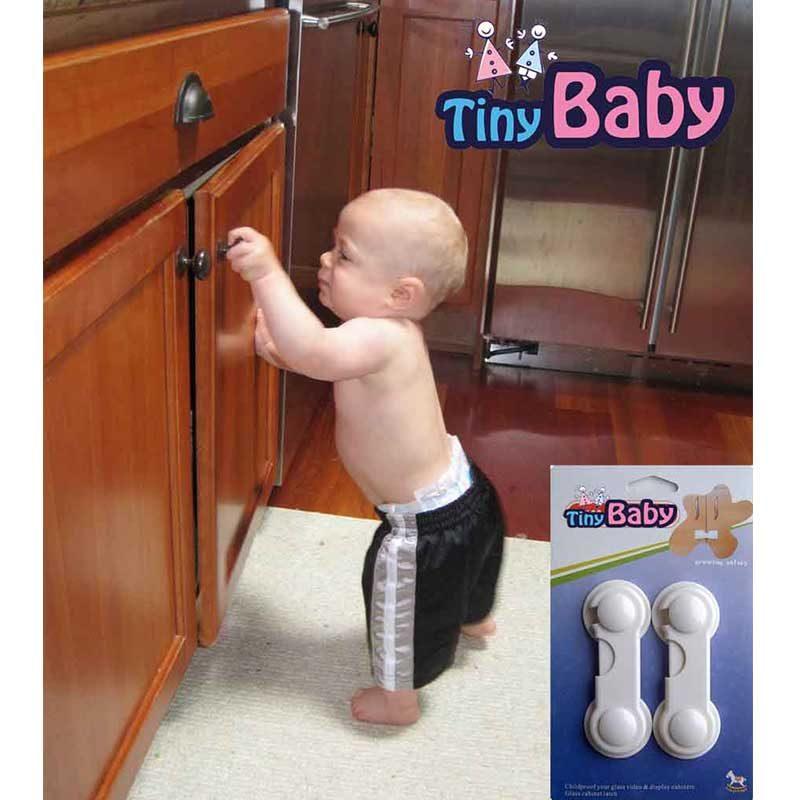 قفل کابینت بسته دو عددی Tiny baby3